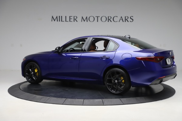 New 2020 Alfa Romeo Giulia Ti Q4 for sale $51,145 at Rolls-Royce Motor Cars Greenwich in Greenwich CT 06830 4