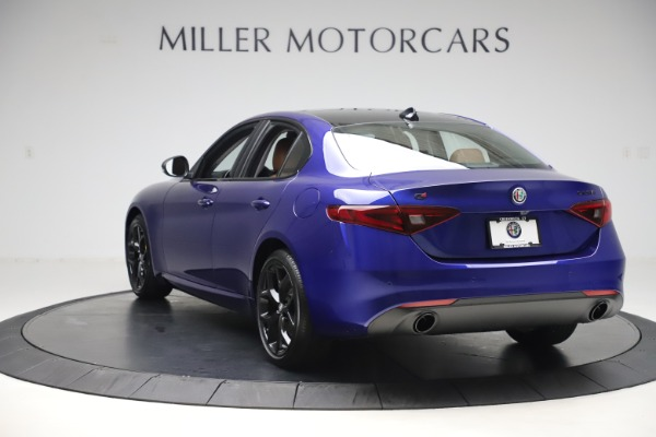 New 2020 Alfa Romeo Giulia Ti Q4 for sale $51,145 at Rolls-Royce Motor Cars Greenwich in Greenwich CT 06830 5