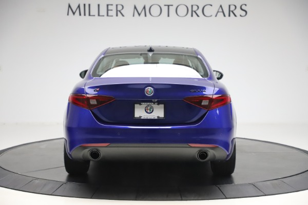 New 2020 Alfa Romeo Giulia Ti Q4 for sale $51,145 at Rolls-Royce Motor Cars Greenwich in Greenwich CT 06830 6