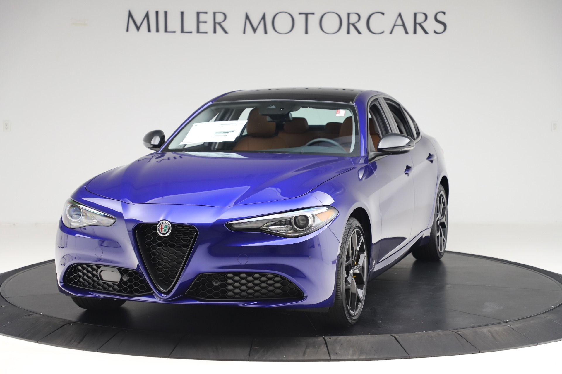 New 2020 Alfa Romeo Giulia Ti Q4 for sale $51,145 at Rolls-Royce Motor Cars Greenwich in Greenwich CT 06830 1