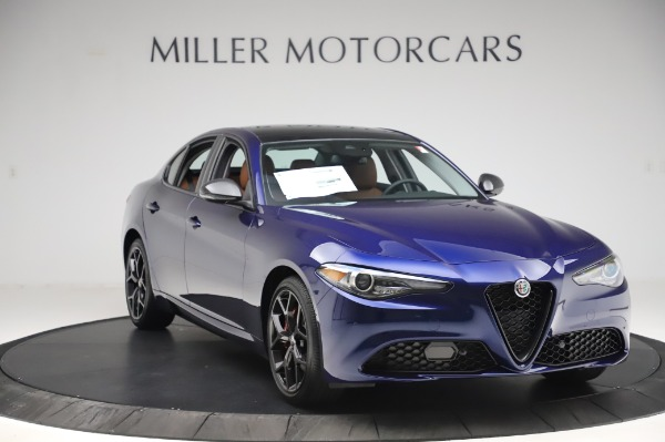 New 2020 Alfa Romeo Giulia Q4 for sale $47,845 at Rolls-Royce Motor Cars Greenwich in Greenwich CT 06830 10