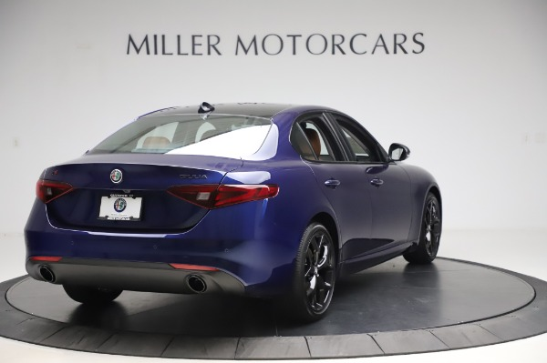 New 2020 Alfa Romeo Giulia Q4 for sale $47,845 at Rolls-Royce Motor Cars Greenwich in Greenwich CT 06830 6