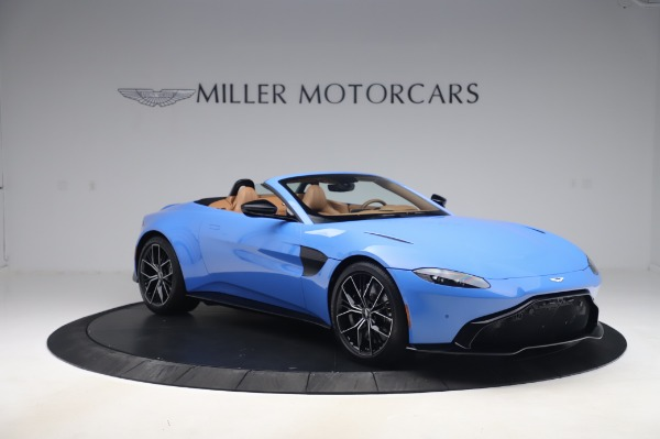 New 2021 Aston Martin Vantage Roadster for sale Call for price at Rolls-Royce Motor Cars Greenwich in Greenwich CT 06830 10