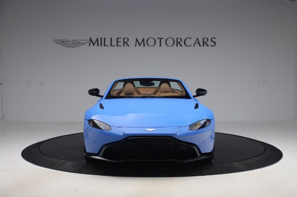 New 2021 Aston Martin Vantage Roadster for sale Call for price at Rolls-Royce Motor Cars Greenwich in Greenwich CT 06830 11