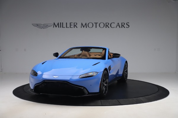 New 2021 Aston Martin Vantage Roadster for sale Call for price at Rolls-Royce Motor Cars Greenwich in Greenwich CT 06830 12