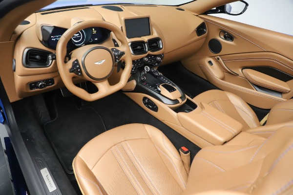 New 2021 Aston Martin Vantage Roadster for sale Call for price at Rolls-Royce Motor Cars Greenwich in Greenwich CT 06830 13