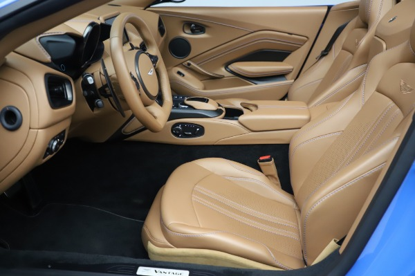 New 2021 Aston Martin Vantage Roadster for sale Call for price at Rolls-Royce Motor Cars Greenwich in Greenwich CT 06830 14
