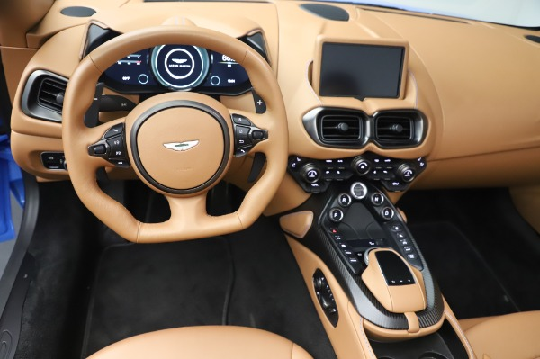 New 2021 Aston Martin Vantage Roadster for sale Call for price at Rolls-Royce Motor Cars Greenwich in Greenwich CT 06830 17