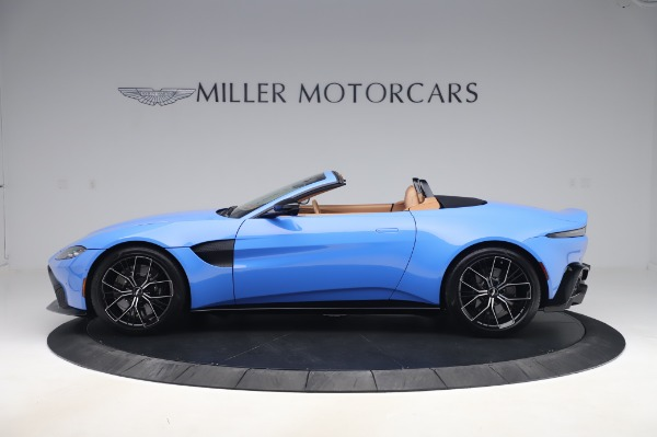 New 2021 Aston Martin Vantage Roadster for sale Call for price at Rolls-Royce Motor Cars Greenwich in Greenwich CT 06830 2