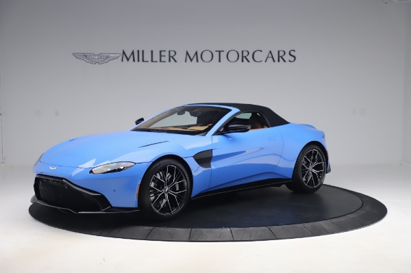 New 2021 Aston Martin Vantage Roadster for sale Call for price at Rolls-Royce Motor Cars Greenwich in Greenwich CT 06830 26