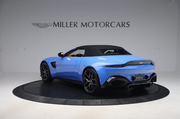 New 2021 Aston Martin Vantage Roadster for sale Call for price at Rolls-Royce Motor Cars Greenwich in Greenwich CT 06830 28