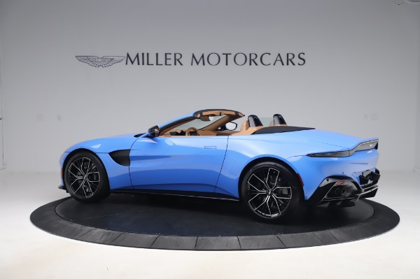 New 2021 Aston Martin Vantage Roadster for sale Call for price at Rolls-Royce Motor Cars Greenwich in Greenwich CT 06830 3