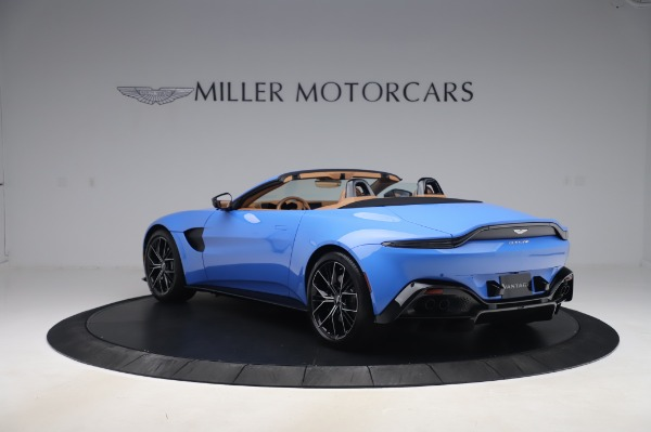 New 2021 Aston Martin Vantage Roadster for sale Call for price at Rolls-Royce Motor Cars Greenwich in Greenwich CT 06830 4