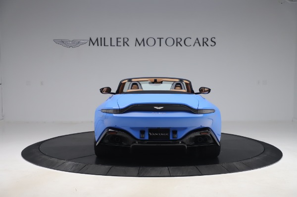 New 2021 Aston Martin Vantage Roadster for sale Call for price at Rolls-Royce Motor Cars Greenwich in Greenwich CT 06830 5