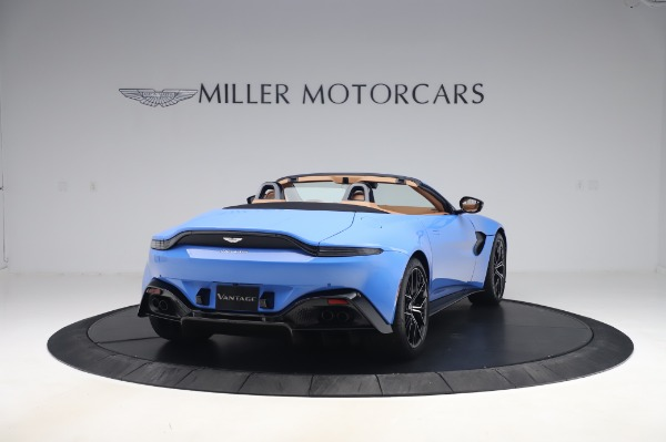 New 2021 Aston Martin Vantage Roadster for sale Call for price at Rolls-Royce Motor Cars Greenwich in Greenwich CT 06830 6