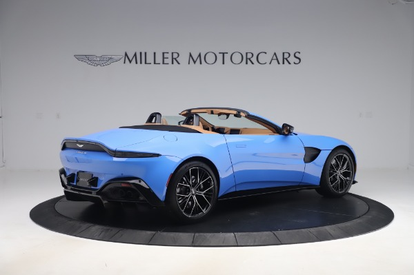 New 2021 Aston Martin Vantage Roadster for sale Call for price at Rolls-Royce Motor Cars Greenwich in Greenwich CT 06830 7