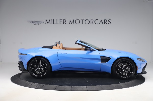 New 2021 Aston Martin Vantage Roadster for sale Call for price at Rolls-Royce Motor Cars Greenwich in Greenwich CT 06830 8