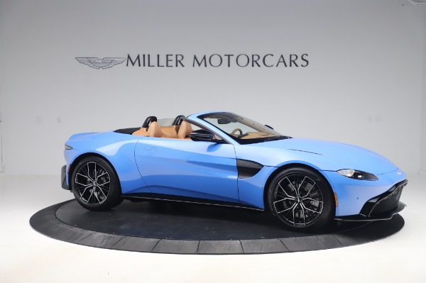 New 2021 Aston Martin Vantage Roadster for sale Call for price at Rolls-Royce Motor Cars Greenwich in Greenwich CT 06830 9