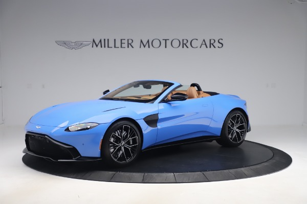 New 2021 Aston Martin Vantage Roadster for sale Call for price at Rolls-Royce Motor Cars Greenwich in Greenwich CT 06830 1