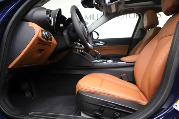 New 2020 Alfa Romeo Giulia Q4 for sale $45,445 at Rolls-Royce Motor Cars Greenwich in Greenwich CT 06830 14