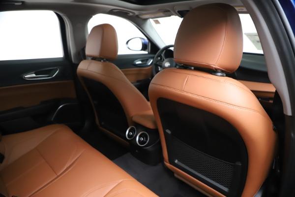 New 2020 Alfa Romeo Giulia Q4 for sale $45,445 at Rolls-Royce Motor Cars Greenwich in Greenwich CT 06830 28