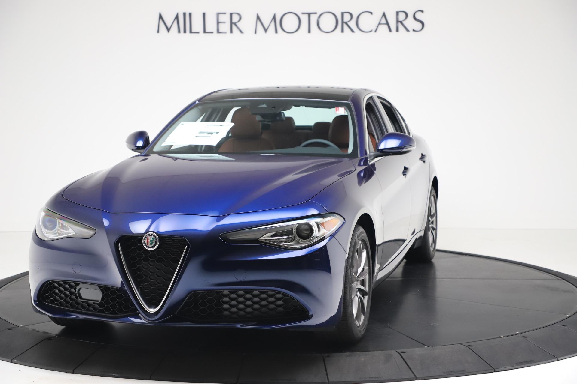 New 2020 Alfa Romeo Giulia Q4 for sale $45,445 at Rolls-Royce Motor Cars Greenwich in Greenwich CT 06830 1