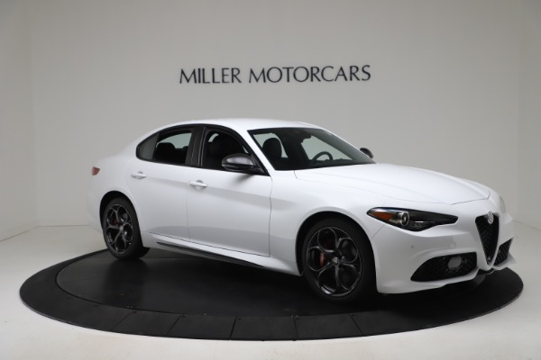 New 2020 Alfa Romeo Giulia Ti Sport Carbon Q4 for sale $51,640 at Rolls-Royce Motor Cars Greenwich in Greenwich CT 06830 10