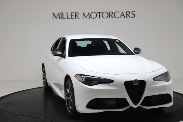 New 2020 Alfa Romeo Giulia Ti Sport Carbon Q4 for sale $51,640 at Rolls-Royce Motor Cars Greenwich in Greenwich CT 06830 11
