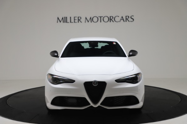 New 2020 Alfa Romeo Giulia Ti Sport Carbon Q4 for sale $51,640 at Rolls-Royce Motor Cars Greenwich in Greenwich CT 06830 12