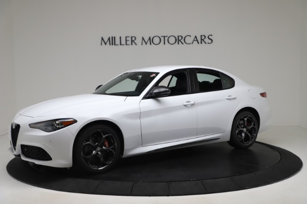 New 2020 Alfa Romeo Giulia Ti Sport Carbon Q4 for sale $51,640 at Rolls-Royce Motor Cars Greenwich in Greenwich CT 06830 2