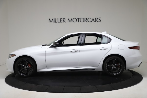 New 2020 Alfa Romeo Giulia Ti Sport Carbon Q4 for sale $51,640 at Rolls-Royce Motor Cars Greenwich in Greenwich CT 06830 3