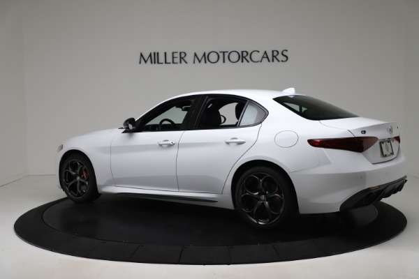 New 2020 Alfa Romeo Giulia Ti Sport Carbon Q4 for sale $51,640 at Rolls-Royce Motor Cars Greenwich in Greenwich CT 06830 4