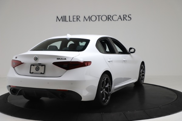 New 2020 Alfa Romeo Giulia Ti Sport Carbon Q4 for sale $51,640 at Rolls-Royce Motor Cars Greenwich in Greenwich CT 06830 7