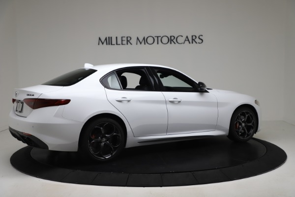 New 2020 Alfa Romeo Giulia Ti Sport Carbon Q4 for sale $51,640 at Rolls-Royce Motor Cars Greenwich in Greenwich CT 06830 8
