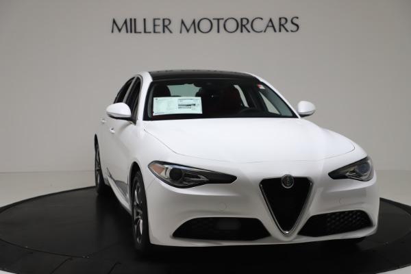 New 2020 Alfa Romeo Giulia Q4 for sale $44,845 at Rolls-Royce Motor Cars Greenwich in Greenwich CT 06830 11