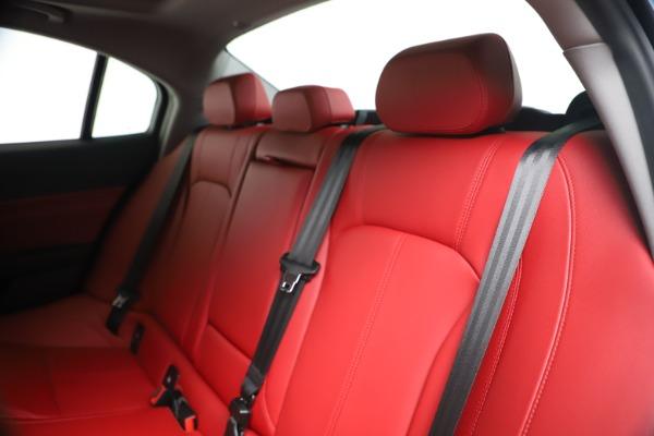 New 2020 Alfa Romeo Giulia Q4 for sale $44,845 at Rolls-Royce Motor Cars Greenwich in Greenwich CT 06830 18
