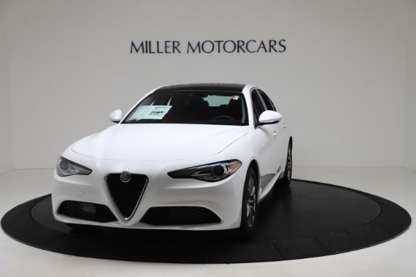 New 2020 Alfa Romeo Giulia Q4 for sale $44,845 at Rolls-Royce Motor Cars Greenwich in Greenwich CT 06830 1