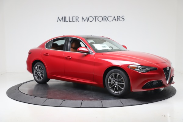 New 2020 Alfa Romeo Giulia Q4 for sale $44,845 at Rolls-Royce Motor Cars Greenwich in Greenwich CT 06830 10