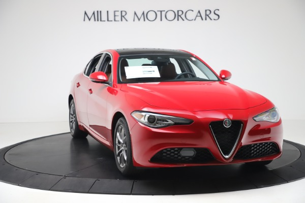 New 2020 Alfa Romeo Giulia Q4 for sale $44,845 at Rolls-Royce Motor Cars Greenwich in Greenwich CT 06830 11