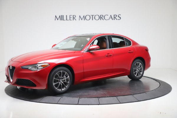 New 2020 Alfa Romeo Giulia Q4 for sale $44,845 at Rolls-Royce Motor Cars Greenwich in Greenwich CT 06830 2