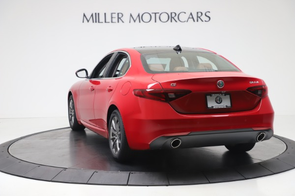 New 2020 Alfa Romeo Giulia Q4 for sale $44,845 at Rolls-Royce Motor Cars Greenwich in Greenwich CT 06830 5