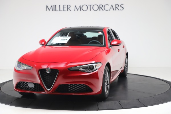 New 2020 Alfa Romeo Giulia Q4 for sale $44,845 at Rolls-Royce Motor Cars Greenwich in Greenwich CT 06830 1