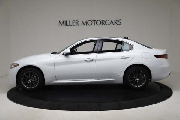 New 2020 Alfa Romeo Giulia Q4 for sale Sold at Rolls-Royce Motor Cars Greenwich in Greenwich CT 06830 3
