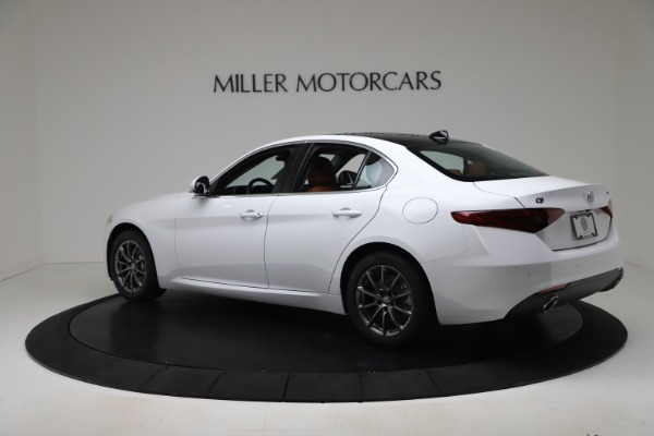 New 2020 Alfa Romeo Giulia Q4 for sale Sold at Rolls-Royce Motor Cars Greenwich in Greenwich CT 06830 4