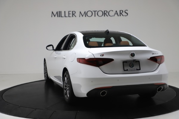 New 2020 Alfa Romeo Giulia Q4 for sale Sold at Rolls-Royce Motor Cars Greenwich in Greenwich CT 06830 5
