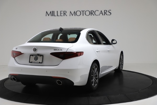 New 2020 Alfa Romeo Giulia Q4 for sale Sold at Rolls-Royce Motor Cars Greenwich in Greenwich CT 06830 7