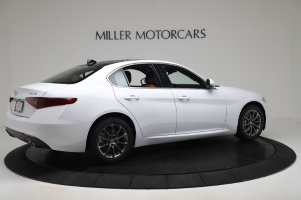 New 2020 Alfa Romeo Giulia Q4 for sale Sold at Rolls-Royce Motor Cars Greenwich in Greenwich CT 06830 8