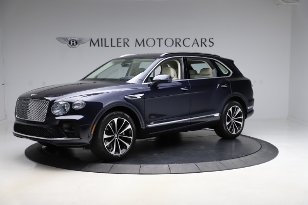 New 2021 Bentley Bentayga V8 for sale $204,100 at Rolls-Royce Motor Cars Greenwich in Greenwich CT 06830 2