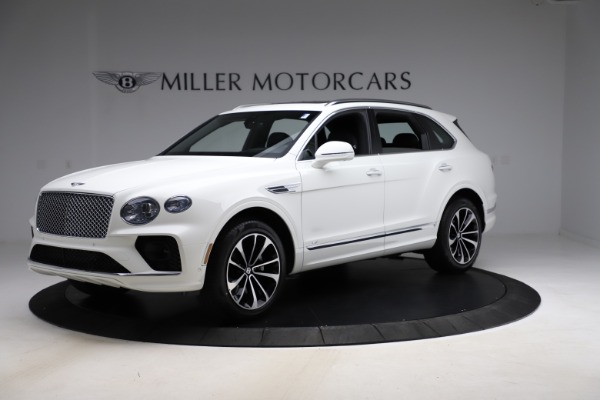 New 2021 Bentley Bentayga V8 for sale Sold at Rolls-Royce Motor Cars Greenwich in Greenwich CT 06830 2