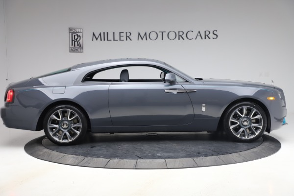 New 2021 Rolls-Royce Wraith KRYPTOS for sale $450,550 at Rolls-Royce Motor Cars Greenwich in Greenwich CT 06830 10